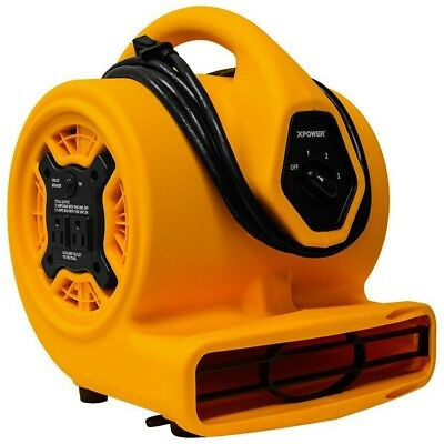 Air Mover 700 CFM 1/5 HP 3 Speed Multi Purpose Blower Fan Drying Ventilating New