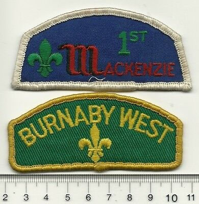 Old Mackenzie & Burnaby West Group Flashes