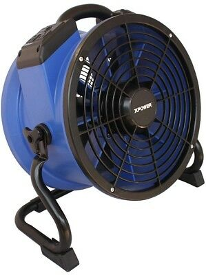 Axial Fan 1720 CFM 13 inch Variable Speed Sealed Motor Professional Industrial