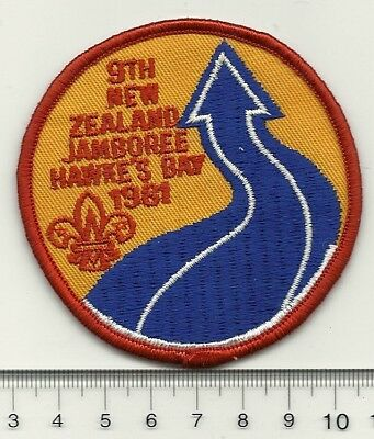 NZ Scouts 9th National Jamboree Badge