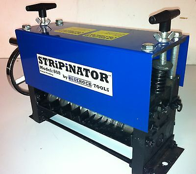 STRiPiNATOR ® MWS-808 Manual Wire Stripping Machine by BLUEROCK ® Tools