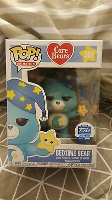 Funko Pop! Care Bears Bedtime Bear #357 Vaulted Sold Out Limited Edition