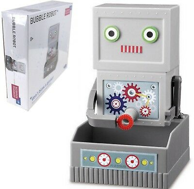 SCIENCE MUSEUM Build Your Own BUBBLE ROBOT Moving Blower Kit EDUCATIONAL FUN 8+