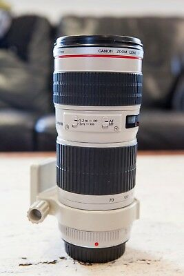 Canon EF 70-200mm f/4.0 USM Ultrasonic L Lens - Great Condition