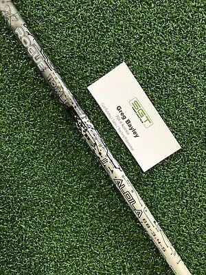 Aldila Rogue 110 MSI Silver Used Stiff Driver Shaft Taylormade Adapter