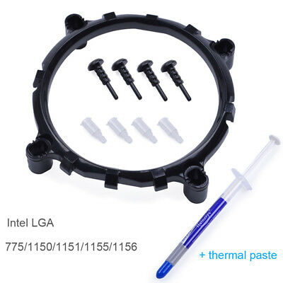 CPU Cooling Fan Heatsink Socket Mount Bracket Dock For Intel LGA 775/1155/1156 X