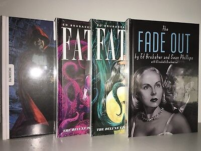 *NEW&SEALED* Brubaker Hardcover: Fade Out Deluxe Hardcover