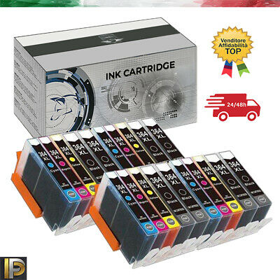 20 cartucce con CHIP per HP Photosmart B109 Deskjet 3070 3070A D5445 3520 364XL