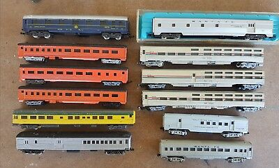 n scale passenger carriages x 12 model train