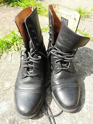 Ariat Ladies Womens Lace Up Short Ankle Riding Boots Size 5 Black
