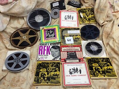 Vintage retro standard 8 films. Mixed variety. 16 x reels. Lot 48