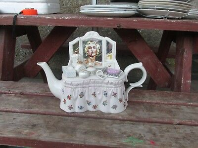Paul Cardew Large Lady's dressing table Limited Edition Teapot