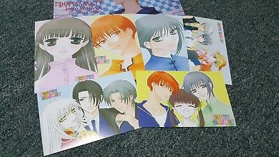 Fruits Basket- Postcard & Decorative Stationary Paper Set- Natsuki Takaya-Import
