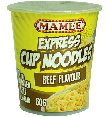 Mamee Noodle Cup Beef 60g x 12