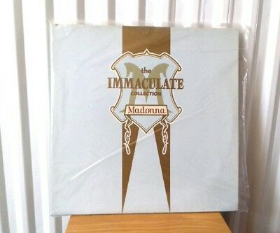Madonna The Immaculate Collection Double Vinyl Record LP UK Album WX370