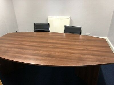 Boardroom table and 2 Chairs