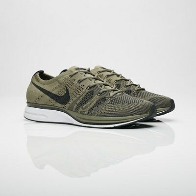 buy popular 6fbf4 aa56f Nike Flyknit Trainer AH8396-200 Medium Olive Men Size US 10.5 NEW 100%  Authentic