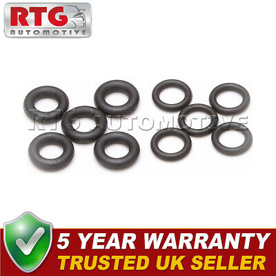FOR PEUGEOT 1.6 DIESEL INJECTOR LEAK OFF ORING SEAL SET 4 VITON RUBBER UPGRADE