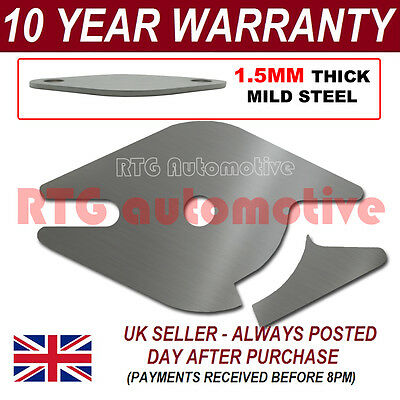 Isuzu Rodeo Easy Fit Egr Exhaust Valve Blanking Plate 1.5Mm Steel Ha