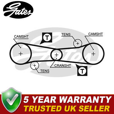Timing Belt Cam Belt for CITROEN BERLINGO 1.4 96-on Multispace TU3JP Febi
