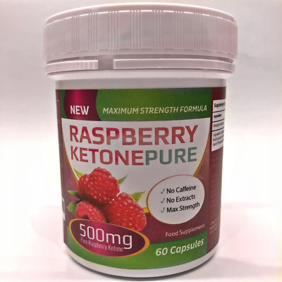 Raspberry Ketone PURE-Weight Loss Slimming Diet Supplement-Max Strength Formula