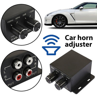 Equalizer Amplifier Premium Frequency 150Hz - 40Hz Car Home Universal Crossover