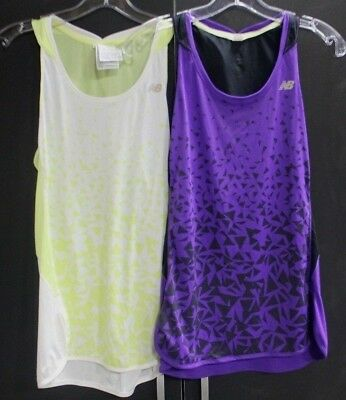 *Lot of 2* New Balance - Ice - Women's Running Tank - Small