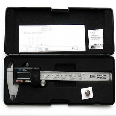 LCD Electronic Digital Gauge Stainless Vernier Caliper 100/150mm Micrometer F3Cɔ