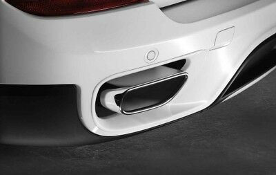 BMW Genuine Exhaust Tail Pipe With Chrome Tip Trim E70 X5 18302185392