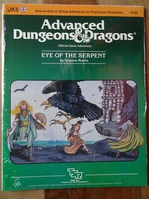 UK5 - Eye of the Serpent -NEW SEALED & still in SHRINK WRAP- AD&D TSR 9125