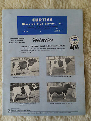 1950's Curtiss Candy IMproved Stud Services Booklet