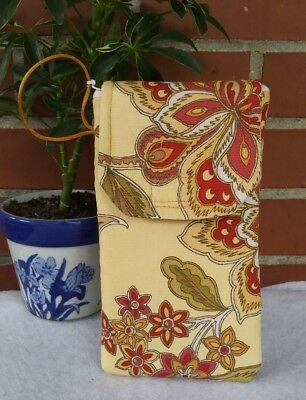 Free Shipping - Handmade Gold Paisley Cell Phone/Glasses  Case (423)