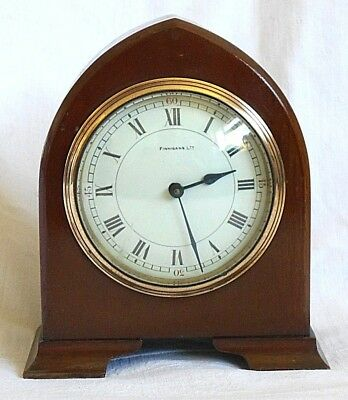 Good Quality French Oak Cased 8 Day Mantel Clock