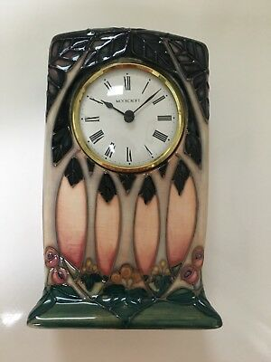 Moorcroft Cluny Clock- mint condition