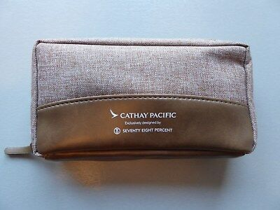 SEVENTY EIGHT PERCENT Cathay Pacific Business Class Kulturtasche Amenity Kit