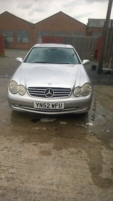 2002 Mercedes CLK500 ELEGANCE - 5L PETROL COUPE AUTOMATIC - LEATHER INTERIOR