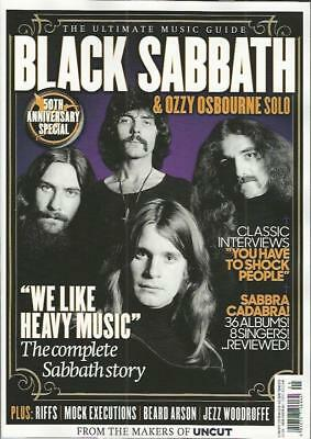 Black Sabbath & Ozzy Osbourne Solo - The Uncut Ultimate Music Guide..new