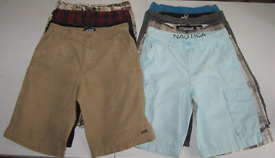 9 Pc Lot Boys Sz 12 Shorts Vans,billabong,skull Boards,nautica,lucky Brand