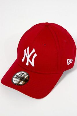 New Era Cappellino 9FORTY New York Yankees Rosso  940 LEAG BASIC NEYY OSFA 5 4327cfb9263a