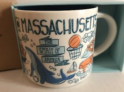 "Starbucks ""Massachusetts"" Been There Series* Mug"