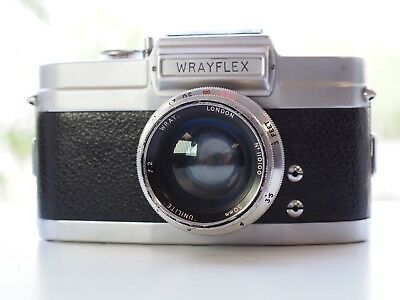 Wray Wrayflex I + 50mm f2 Only 850 made Only English 35mm SLR camera ever made!