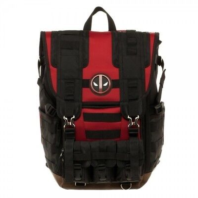 Deadpool Tactical Roll Top Bakcpack - Pre-Order for delivery on August 12th
