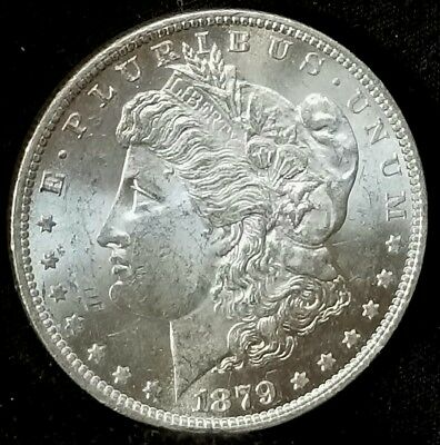 1879 O Gem Bu  Morgan Silver Dollar, Better Date Silver Coin