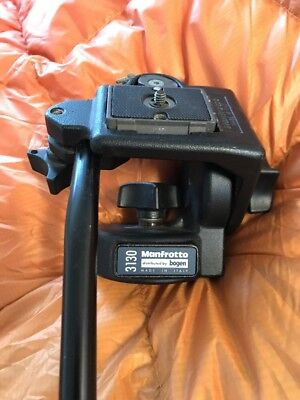 Pre-owned Manfrotto 3130 Micro Fluid Tripod Head - Pan/Tilt