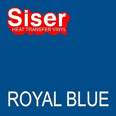 "15"" x 5 ft roll - Royal Blue - SISER Easyweed Heat Transfer Vinyl Iron On- HTV"