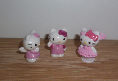 Set 3x HELLO KITTY Figur v. SANRIO 2006 & 2008 - Setpreis