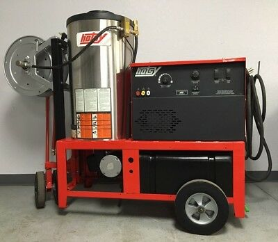 Reconditioned Hotsy 1410SS Electric / Diesel 4GPM @ 3000PSI Hot Pressure Washer