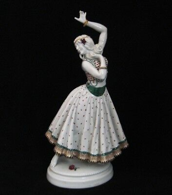 2361* figurine danseuse flamenco  g. grassenberger dresden schierholz germany