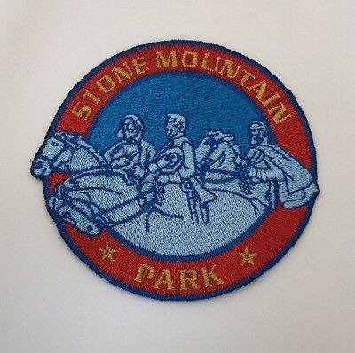 Vtg State Of Georgia Patch STONE MOUNTAIN PARK - Version 2 C75H