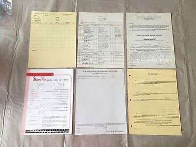 1919 brooklyn ny fire department engine company 276 fire station log vintage ahrens fox fire apparatus invoice specs contract ephemera truck lot 2 fandeluxe Gallery